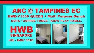 Arc @tampines Ec.hwb+multi-purpose Bench/sofa/coffeetable/kid's Dining &playtable.cushion Mattress