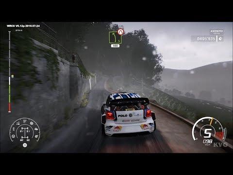 WRC 8 - ADAC Rallye Deutschland - Dynamic Weather Gameplay (PC HD) [1080p60FPS] |