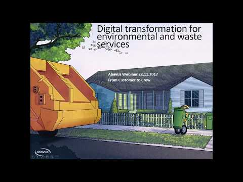 Digital transformation for waste and environmental services