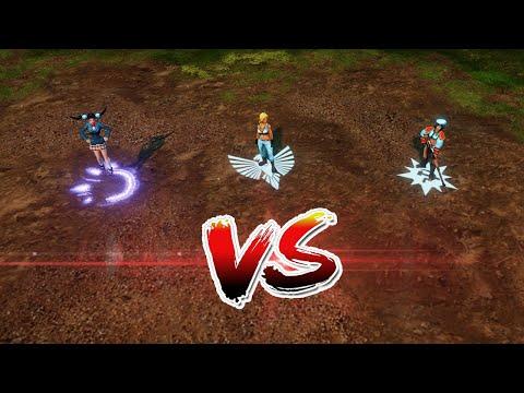 C&C Red Alert 3 - Tanya vs Natasha vs Yuriko |