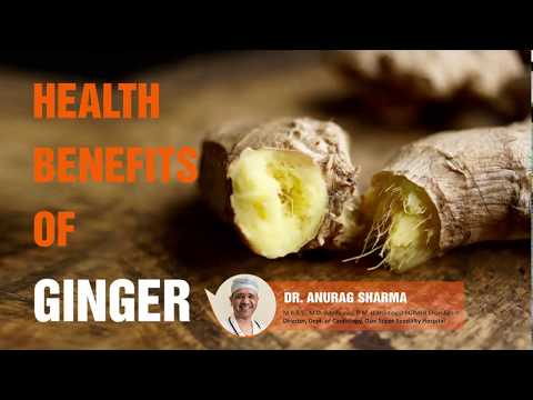 Health Benefits of Ginger | Healthy Heart | Cardiologist Dr. Anurag Sharma