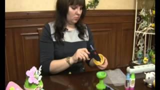 Объёмный квиллинг: пасхальное яйцо
