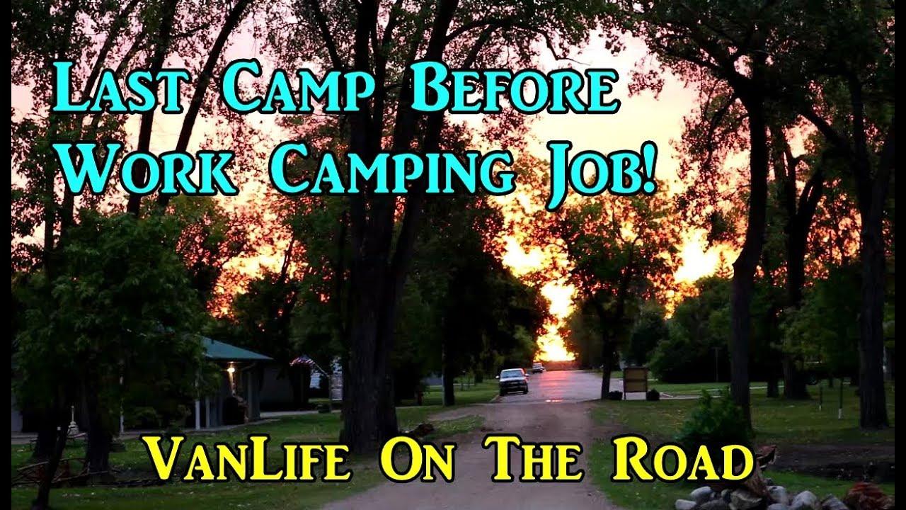 last-camp-before-workcamping-job-north-dakota-vanlife-on-the-road