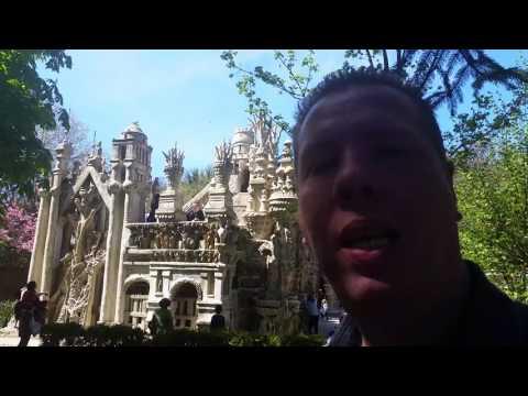 Le Palais du Facteur Cheval! Hauterives! Auvergne-Rhônes-Alpes Parte 01