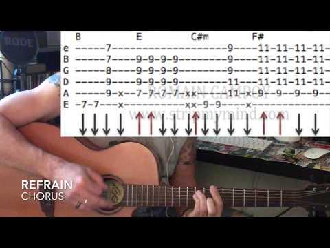 """Good People"" (Jack Johnson) - Cours de guitare (TUTO + TABS)"