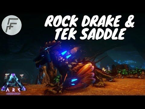 Ark Aberration - Spawn the Rock Drake and Tek saddle