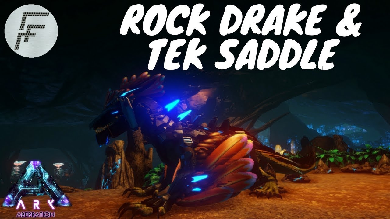 Ark Aberration - Spawn the Rock Drake and Tek saddle