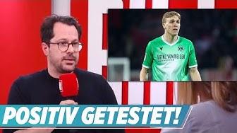 96-Kicker in Quarantäne! Erster deutscher Profi-Fußballer positiv getestet | BILD News