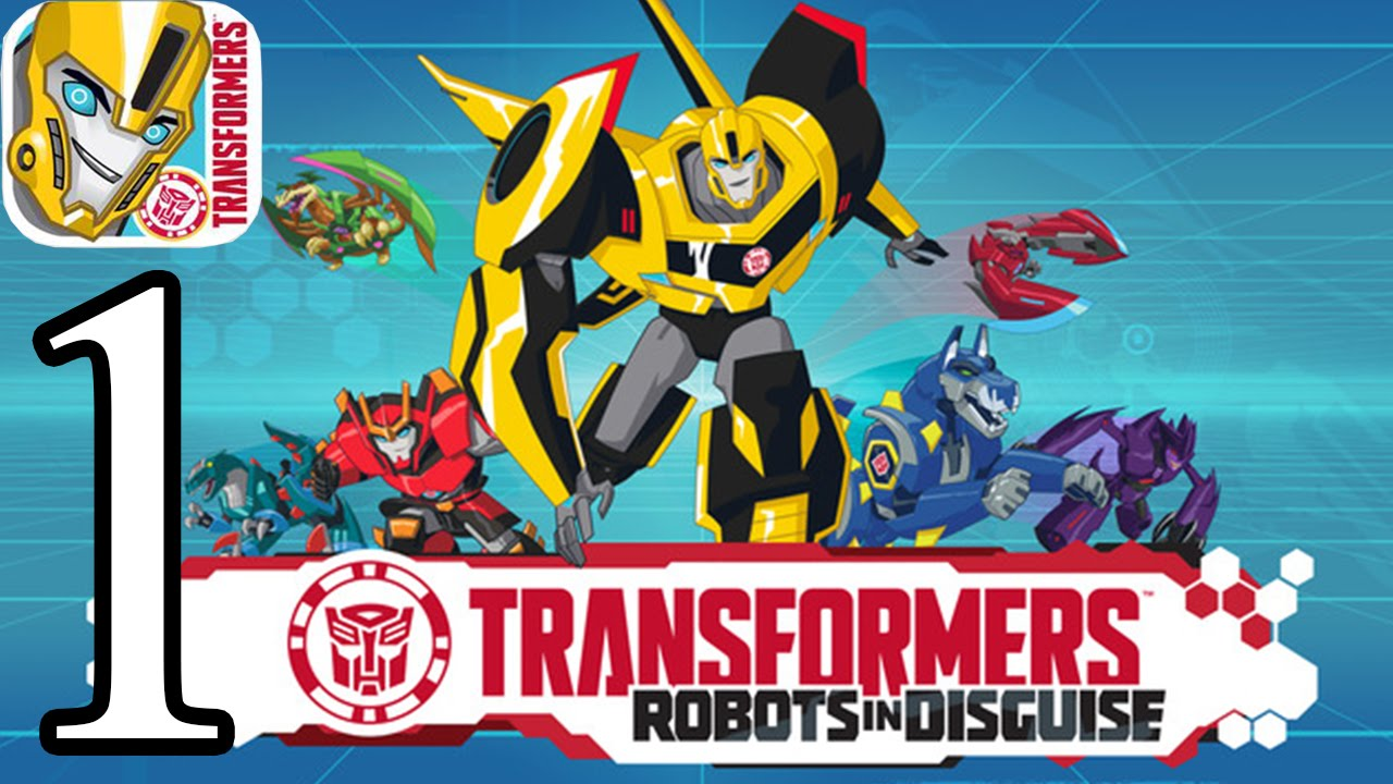 Transformers Robots in Disguise – iPhone Gameplay Walkthrough Part 1: Mission 1-9