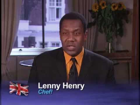 Lenny Henry talks culinary prep for CHEF's Gareth Blackstock