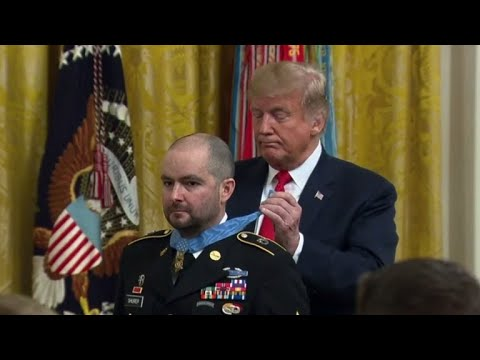 Trump awards Medal of Honor to Army medic for heroic actions in Afghanistan