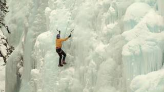 Will Gadd training at Ouray Ice Park - Watch him go! Funded in part through grants from Great Outdoors Colorado made possible by the Colorado Lottery.