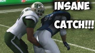 🏈 INSANE ONE HANDED CATCH!!! Backbreaker High School Football League | Woodlawn vs Toronto