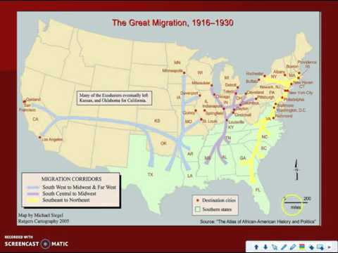 Great Migration and Harlem Renaissance