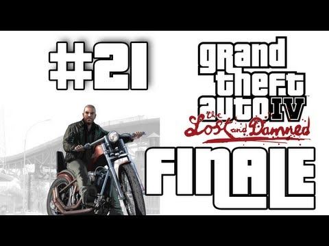 Grand Theft Auto 4: The Lost and Damned DLC Walkthrough / Gameplay Part 21 - FINALE!