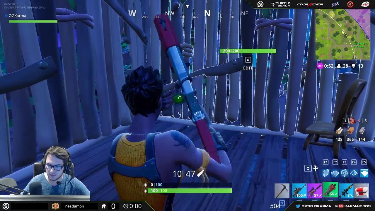Solo Squad  Kill Game Fortnite