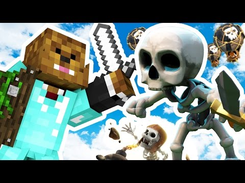 CLASH OF CLANS MEETS MINECRAFT - Minecraft ISLAND CLASH S2 #1