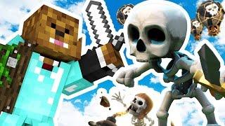 CLASH OF CLANS MEETS MINECRAFT - Minecraft ISLAND CLASH S2 #1