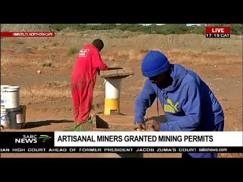 Northern Cape: Small Scale Miners Obtain Mining Permits