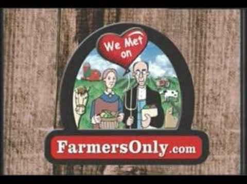 Farmer online dating commercial