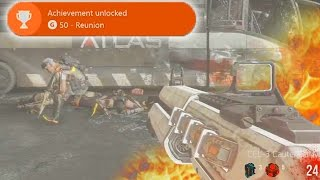 "EXO ZOMBIES ""DESCENT"" EASTER EGG - FULL Easter Egg Guide! ""REUNION"" - (Exo Zombies Descent)"