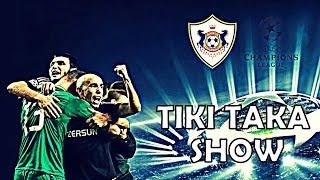Qarabag - Tiki Taka Show - Champions league - Gurbanov System | 2018 HD