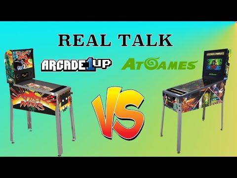 Arcade1Up Pinball vs AtGames Pinball | Real Talk from Original Console Gamer