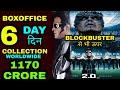 Robot 2.0 6th day Boxoffice Collection, Robot 2.0 Worldwide Collection, Akshay kumar Rajnikant
