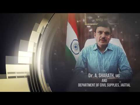 TEXA-2017: General (Organisation) - Dr. A. Sharath, IAS, Collector and DM, Jagtial