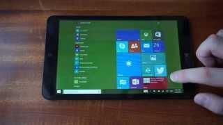 Обзор Windows 10 TP на 8' планшете