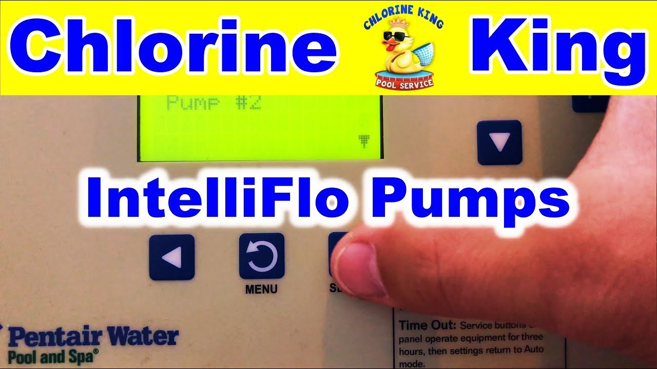 How To Program IntelliFlo Pumps on Pentair's Easy Touch Automation -  Chlorine King