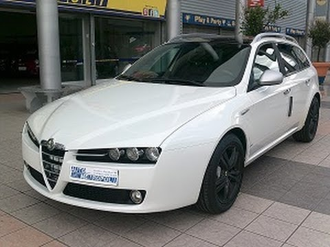 alfa romeo 159 1 9 16v 150cv dpf sportwagon distinctive youtube. Black Bedroom Furniture Sets. Home Design Ideas