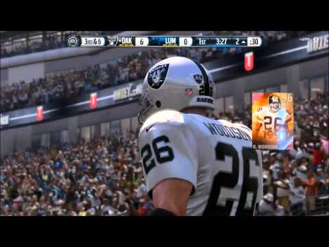 Madden 16 Ultimate Team | Road to 96 Tom Brady HIGHLIGHT - Rod Woodson Pick-6!