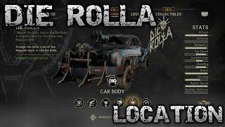 Mad Max 'DIE ROLLA' Body Location