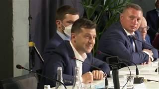 Зустріч Володимира Зеленського з представниками бізнесу Волинської області