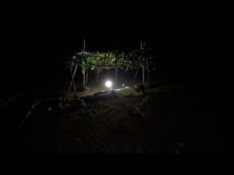 無人島で家を作る 無人島で遭難#1