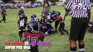 8-23-13 SUPER PEE WEE Vikings Vs Ravens (FYFL)