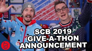 SCB GIVE-A-THON & PODCAST ANNOUNCEMENT!