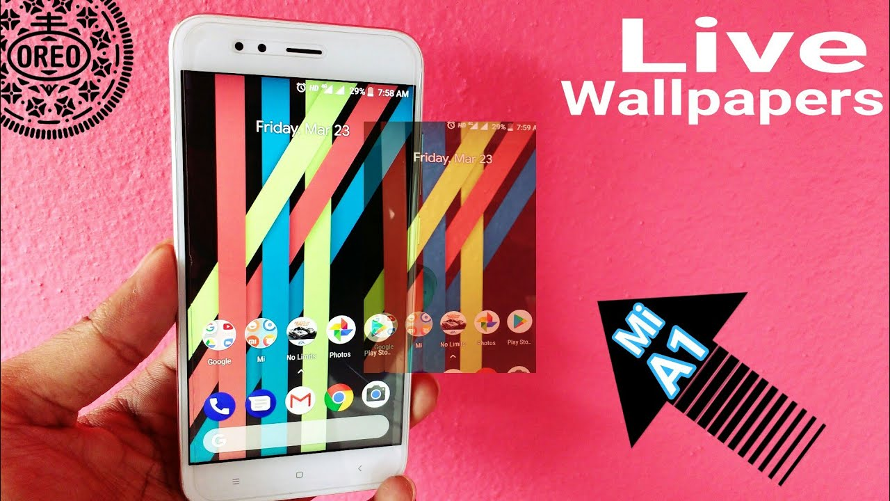 Xiaomi Live Wallpaper: Android Pattern Live Wallpapers For Xiaomi Mi A1