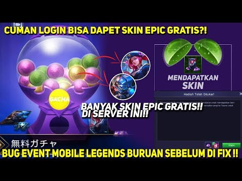 Event Ml Skin Epic Gratis - Trik Gamers