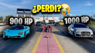 VOY AL AUTODROMO A CORRER MCLAREN 720S 900HP VS AUDI RS3 1000HP *muy dificil* || ALFREDO VALENZUELA