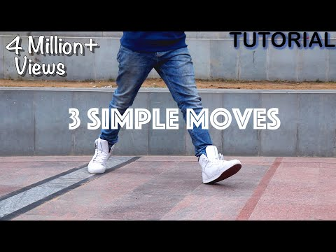 3 Simple Dance Moves For Beginners (Footwork Tutorial)
