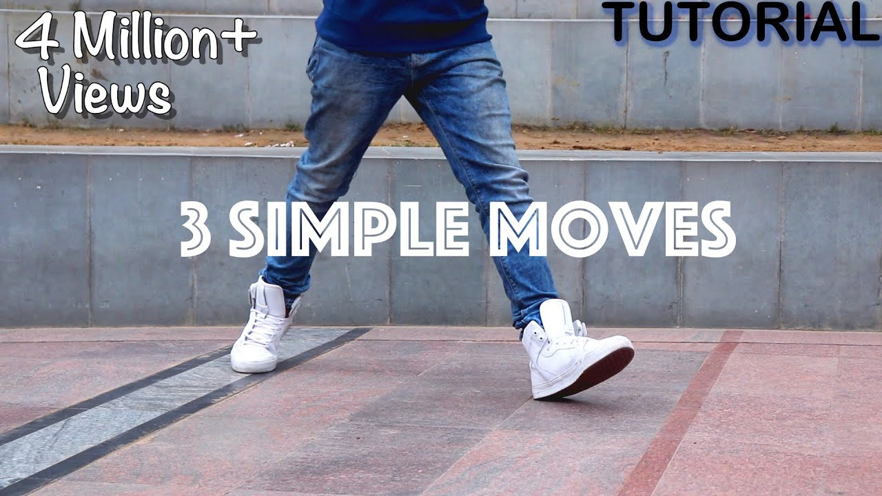 3 Simple Dance Moves For Beginners (Footwork Tutorial) | Part - 1