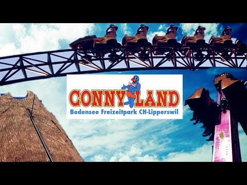 Conny Land - Swiss Theme Park - Parkvideo 2016 by Snikazz