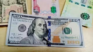 Today currency rates in Pakistan  open market exchange rate  Us dollar/saudi riyal/uae,