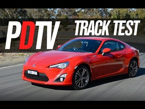 2012 Toyota 86 Gts Track Test Drive Youtube