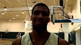Tulane basketball senior Kevin Thomas