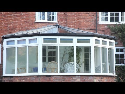 Installation of an Ultraframe LivinROOF for a conservatory roof upgrade