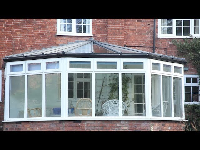 Installation Of An Ultraframe Livinroof For A Conservatory Roof Upgrade Youtube