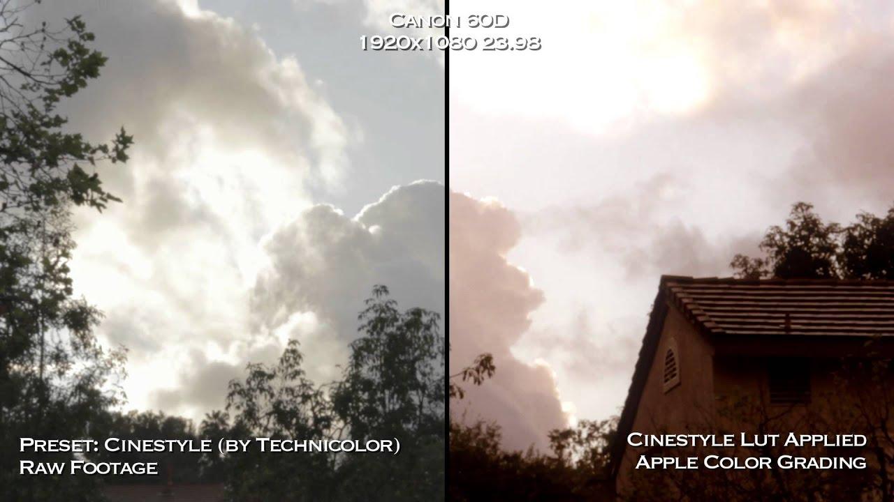 download technicolor cinestyle lut » travazprosol ml
